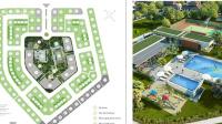 bán chính chủ biệt thự vườn mai ecopark số 113 lô góc 351m2 hướng tây bắc giá 42 triệum2