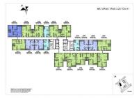 duy nhất căn hộ 3 phòng ngủ khoảng tầng trung dự án vinhomes new center