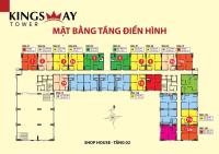 giỏ hàng sang nhượng kingsway 57m2 đến 76m2 giá từ 125 tỷ
