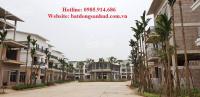 chuyên bán suất ngoại giao liền kề biệt thự dự án trầu cau garden khu hud b lh 0985914686