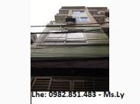 cho thuê nhà 45m2 x 5 tầng ngõ 25 phạm thận duật ô tô đ cửa 20 triệuth