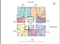 cần bán căn 1 phòng ngủ trục căn 07 tầng 18 tòa s1 view hồ tây 0906248669