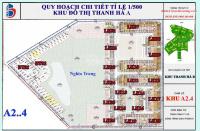 chính chủ bán liền kề thanh hà a12 lk15 ô 07 diện tích 80m2 đường 17m nhìn chung cư nối ra hồ