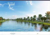 bán biệt thự đơn lập vinhomes ocean park hướng đông nam dt đất 288m2 mặt tiền 16m gần hồ lớn