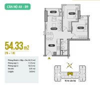 chính chủ cần bán căn 54m2 tầng thấp anland premium giá ngoại giao cực rẻ lh 0326342396
