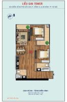 bán căn hộ 2 pn mặt đường liễu giai tầng 18 đầy đủ nội thất được vay lãi suất 0 18 tháng 43x tỷ