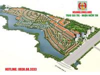 bán đất biệt thự mặt hồ sen dt 240m2 lô 2 mặt tiền view hồ sen giá 11trm2 lh 0938683333