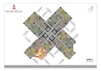 chính chủ bán căn hộ tầng 25 chung cư cao cấp golden palace