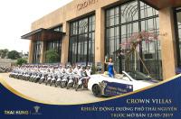 độc quyền phân phối crown villas liền kề shophouse ưu tiên chọn căn ck lớn lh 0963 179 333