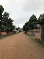bán đất khu cnc hòa lạc thôn 1 xã tân xã thạch thất dt 120m2 đường nhựa 5m giá 8 triệum2