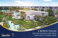 cần bán căn hộ tại khu đô thị crown villas
