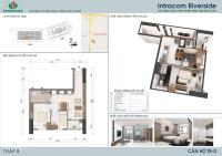 chị thảo bán gấp căn hộ 2012 dt 476m2 chung cư intracom đông anh giá 20 trm2 lh 0964964059