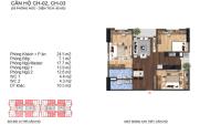 chính chủ bán căn hộ 95m2 3pn 2wc sắp bàn giao chỉ 33 triệum2 tại dự án lạc hồng lotus 2 kđt ngđ