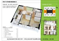 chung cư nhà ở xã hội giá rẻ hà đông chỉ 136 triệum2 mua ngay căn hộ lh 0966919233