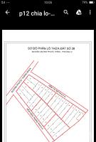 cần bán 6 lô đất đường mặt tiền phước thắng phường 12 thành phố vũng tàu