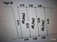 bán đất miêu nha dt 48m2 x 37m mt ngõ 5m thông kinh doanh ô tô đ cửa tiện lợi 0963878477