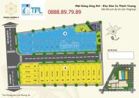 bán đất nền củ chi dt 5m x20m đã có sổ riêng xây tự do giá 850