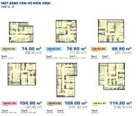sunrise city view bán căn hộ 989m2 3 phòng ngủ 2wc nhà thô có ban công