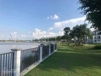 chủ bán biệt thự ven sông kdc nine south estates dt 12x27m hồ bơi riêng 288 tỷ lh 0906886788