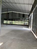 cho thuê kho xưởng đường xe tải 6 tấn quốc lộ 50 gần chợ phú lạc xã phong phú huyện bình chánh