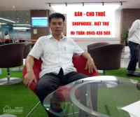 Cho VINMART thuê shop 65m, 86m, 98m mặt sảnh chung cư gần Times City LH: 0945436569