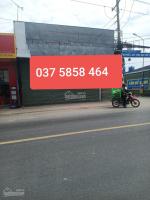 Cho thuê Mặt tiền Kinh doanh đa ngành nghề đường 2212, gần chợ đêm Hòa Lân DT: 10x15m, 27 triệth LH: 0375858464
