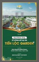 Trân trọng mời quý khách hàng tham dự lễ mở bán đợt 1 dự án Tiến Lộc Garden ngay tại Q4, TP HCM LH: 0909572224