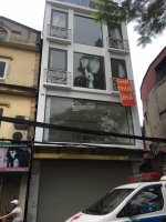 Cho thuê nhà mặt phố Nguyễn Trường Tộ: 100m2 x 3 tầng, mặt tiền 5m, có hầm,thang máyLH: 0974557067