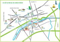 215 tỷ căn góc 3pn 74 m2 mặt tiền phạm thế hiển dự án green river