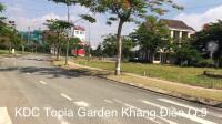 đất nền topia garden khang điền diện tích 96m2 ngang 6m hướng đông nam giá 33 trm2
