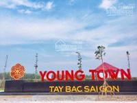 Đất nền khu dân cư Young Town Tây Bắc Sài Gòn, ngân hàng hỗ trợ 20 năm Gía rẻ chỉ 700 triệu LH: 0359090248