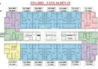 Chính chủ bán gấp CC 90 Nguyễn Tuân CH 1503, DT: 71,22m2, giá 29 trm2 LH: A Giang 0936 104 216