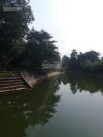 cần bán lô nhà đất khuôn viên hoàn thiện 1400m2 bám hồ