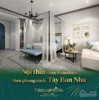 Chỉ 4 tỷ sở hữu biệt thự ngay biển 5 Nova Hill, Mũi Né LH 0942542727