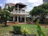 Cho thuê Villa An Phú 600m2, trệt 1 lầu, 3PN, sân vườn 2500$ Lh 0901243011