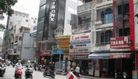 Cho thuê nhà MT Lê Thị Hồng Gấm q1 55x23m 80tr tháng 0943 500 468