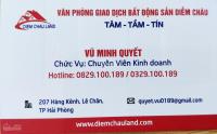 Bán nhà mặt phố Lương Khánh Thiện, Ngô Quyền, Hải Phòng, DTMB 110m2, giá 18 tỷ, LH: 0829100189