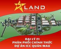Đất nền xây nhà ở vị trí cực đẹp, giá hấp dẫn tuyến 3 hướng Đông Nam dự án ICC Quán Mau LH: 0796327723