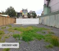 Cho thuê mảnh đất 85x21m khu biệt thự đường Lam Sơn, P6, Quận Bình Thạnh 25triệuth LH: 0903691486
