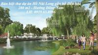 Bán đất nền thành phố Thanh Hóa Biệt thự hướng Đông Nam thuộc khu đô thị Núi Long LH: 0919658986