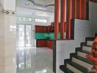 bán nhà mới xây 1 trệt 2 lầu sân thượng giá 6990 tỷ mặt tiền đường bến phú định p16 q8