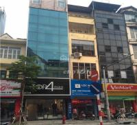 cho thuê mặt phố trần quốc vượng diện tích 80m2 x 5 tầng mặt tiền 5m phù hợp kinh doanh vp