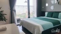 cho thuê căn hộ studio tòa g3 vinhomes green bay 1 phòng ngủ full đồ thiết kế hiện đại view hồ