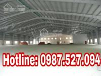 Cho thuê nhà xưởng đường Đặng Công Bỉnh huyện Hóc Môn,diện tích 300m2 và 600m2 LH: 0938957001