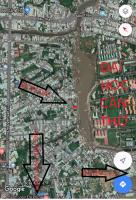 đất 10 x 65 650m2 giá 56 triệu m2 trung tâm cần thơ mặt tiền hồ bún xáng