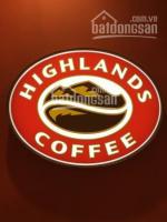Thương hiệu Highlands Coffee cần thuê nhà mặt tiền các quận TPHCM