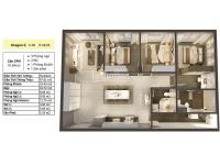 Căn hộ Dragon 2 View Đông Nam 92m2 Duy Nhất trên thị trường - Cuối 2020 nhận nhà 3PN 2WC rộng rãi LH: 0964267826