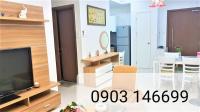 Chính chủ cho thuê căn hộ cao cấp Habitat,64m2,2 PN,2WC, 1PK, bếp, hồ bơi-full nội thất- 0903146699