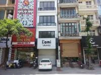 cho thuê nhà mặt phố nguyễn du dt 70m2 xây 4 tầng lh 0913851111