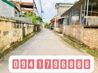 chính chủ bán 50m2 đất thổ cư 3 mặt thoáng tại đông dư gia lâm đường ô tô vào nhà giá 31trm2